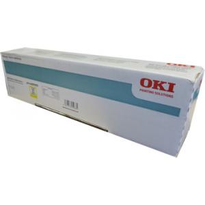 Oki 44059257 Yellow Original Toner Cartridge (9000 Pages) for Oki ES 8451, 8461