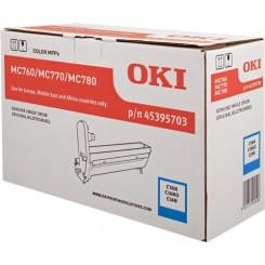 Oki 45395703 Cyan Original Imaging Drum (30000 Pages) for Oki MC760dn, MC760dnfax, MC760dfn, MC760IE, MC770dn, MC770dnfax, MC770dfn, MC770dfnfax, MC770IE, MC780dn, MC780dnfax, MC780dfn, MC780dfnfax