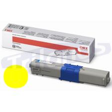 OKI 46490401 Yellow Original Toner Cartridge (1500 Pages) for MC563dn, MC573dn, C532dn, C542dn