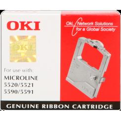 Oki 01126301 Black Original Microline Ribbon (4 Millions Strikes) for Oki Microline ML5520, ML5521, ML5590, ML5591