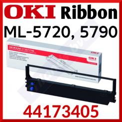 Oki 44173405 Black Ink Original Ribbon for Oki Microline ML-5720, ML-5720eco, ML-5790, ML-5790eco