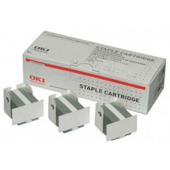 OKI Corner staples for Hanging finisher (ES94x0) - 3x5.000 - for OKI ES 9460 MFP, 9470 MFP