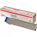 Oki 42918913 Yellow Toner Original Cartridge (15000 Pages) for Oki C9600n, C9600dn, C9600hdn, C9650n, C9650dn, C9650hdn, C9655dn, C9655hdn, C9800dn, C9800hdn, C9850dn, C9850hdn, C9850 mfp