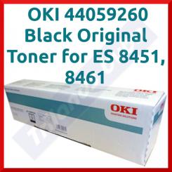 OKI 44059260 Black Original Toner Cartridge (9000 Pages)