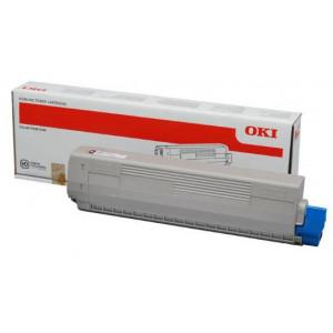 Oki 46861308  Black Original Toner Cartridge (10000 Pages) for Oki C834dnw, 834nw, 844dnw