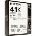 Ricoh GC-41K Black Gel Original Ink Cartridge 405761 (2500 Pages) for Ricoh SG-3110dn, SG-3110dnw, SG-3110SFnw, SG-3100Snw, SG-3120BSPNw, SG-7100DN