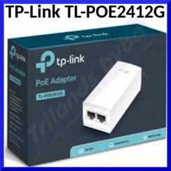 TP-Link TL-POE2412G - PoE injector - 12 Watt - output connectors: 1