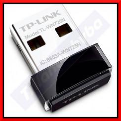 TP-LINK TL-WN725N - Wireless USB Network adapter - USB 2.0 - 802.11b, 802.11g, 802.11n