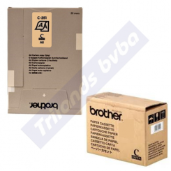 Brother C251S Thermal Paper (A6) - 30 sheets per Pack - 10 Pack per Box (bulk pack) - for MW260