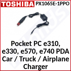 Toshiba PX1065E-1PPO Mobile (Car, Truck, Air) Pocket PC Mobile Power Cable Adapter - Input 9V-33V DC - Output 5V DC - Special Clearance Price